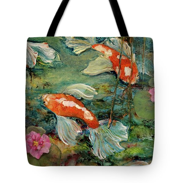 Fishy Tales Tote Bag