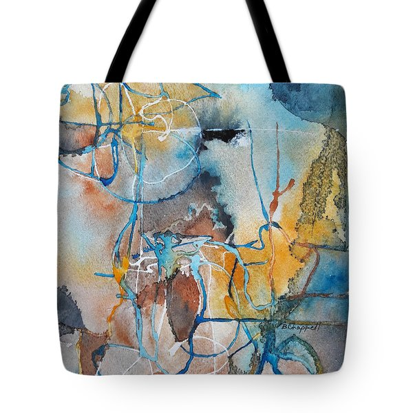 Fissures Tote Bag