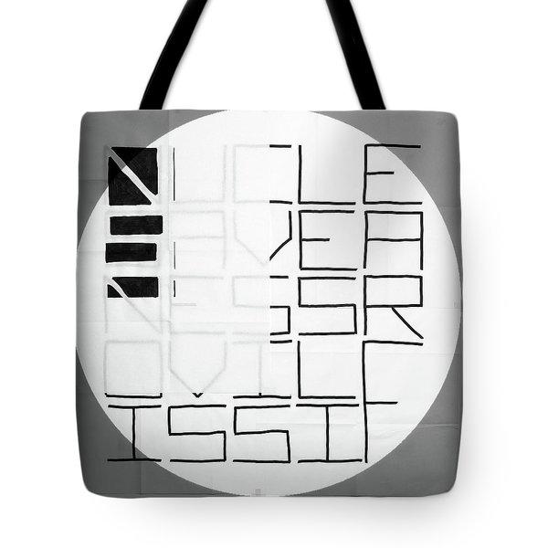 Five - Map Tote Bag