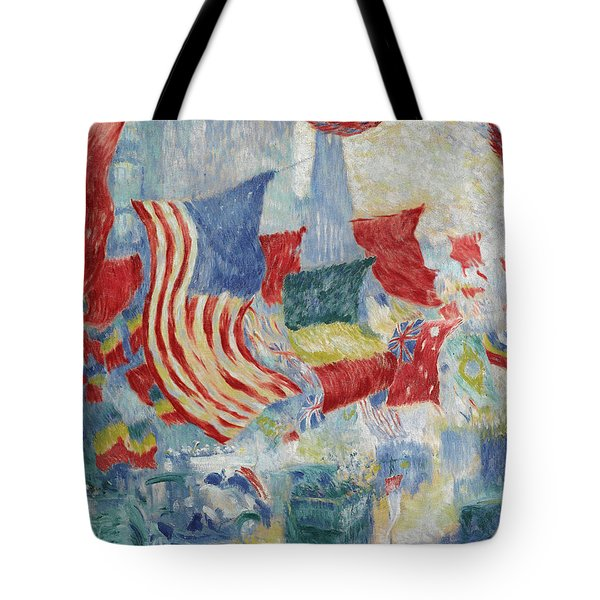 Flag Day In The United States Tote Bag