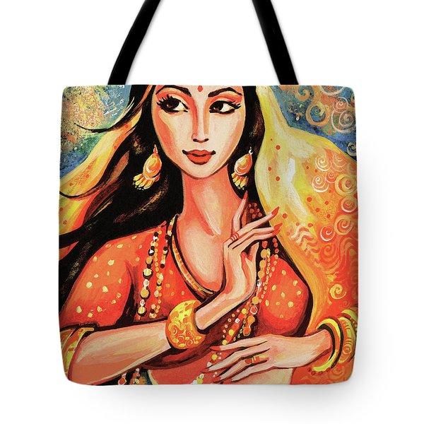 Flame Tote Bag