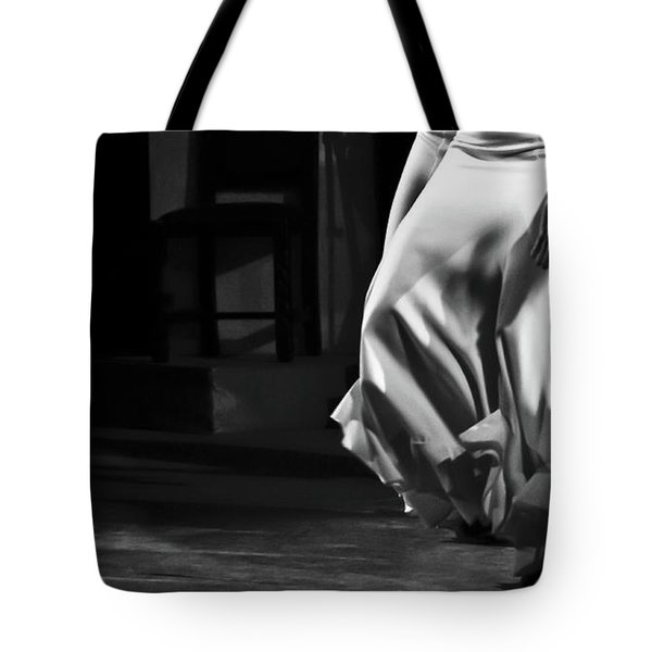 Tote Bag featuring the photograph Flamenco 40 by Catherine Sobredo