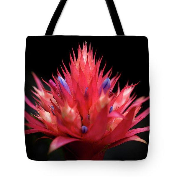 Flaming Flower Tote Bag