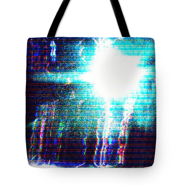 Tote Bag featuring the photograph Flashlight by Bee-Bee Deigner