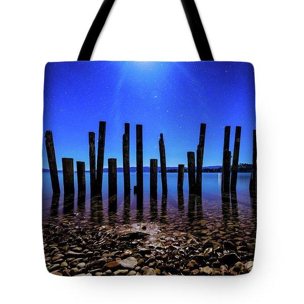 Flathead Lake Tote Bag