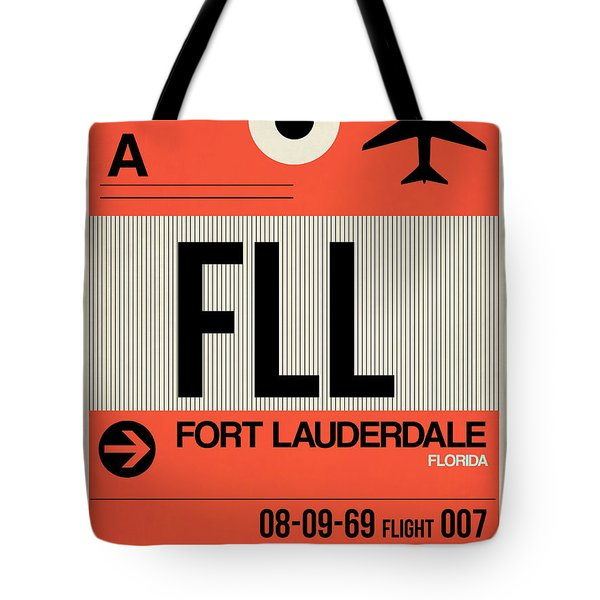 Fll Fort Lauderdale Luggage Tag I Tote Bag
