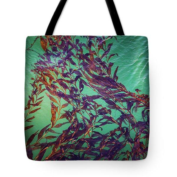 Floatin Kelp I Color Tote Bag