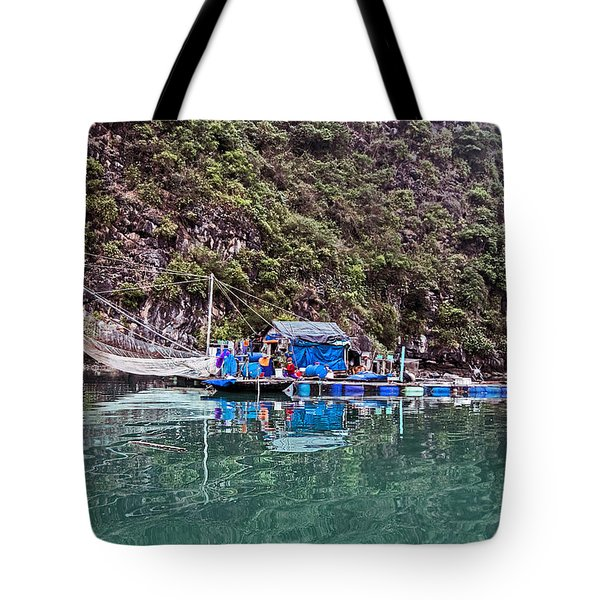 Floating Market - Halong Bay, Vietnam Tote Bag