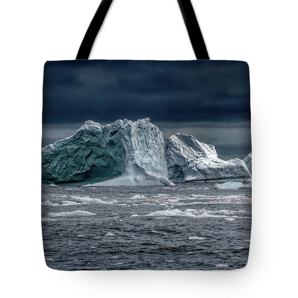 Floating Mountains Tote Bag