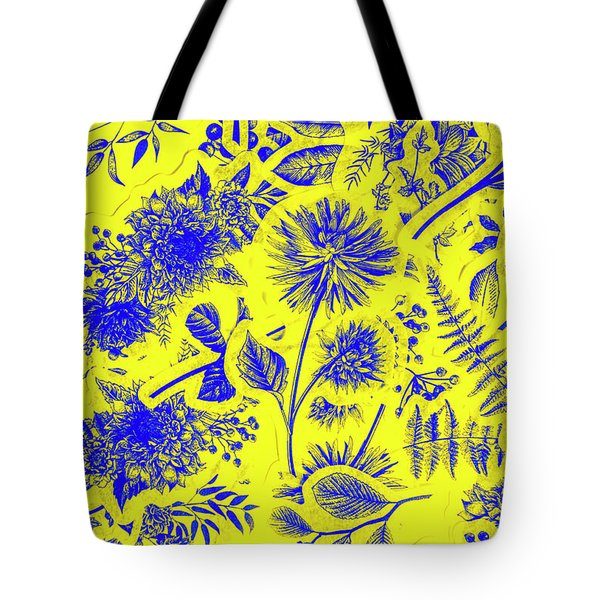 Flora And Foliage Tote Bag