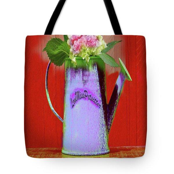 Floral  Art 375 Tote Bag