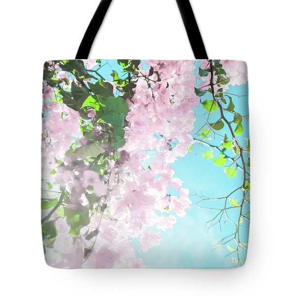 Tote Bag featuring the photograph Floral Dreams IIi by Anne Leven