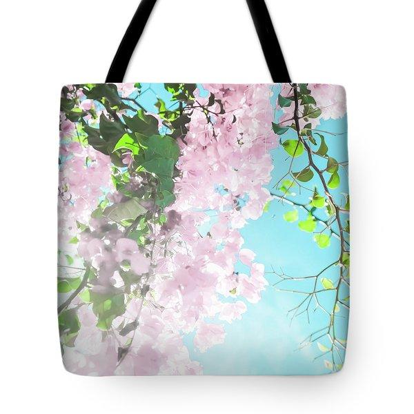 Floral Dreams IIi Tote Bag