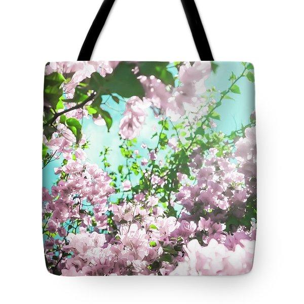 Floral Dreams Iv Tote Bag