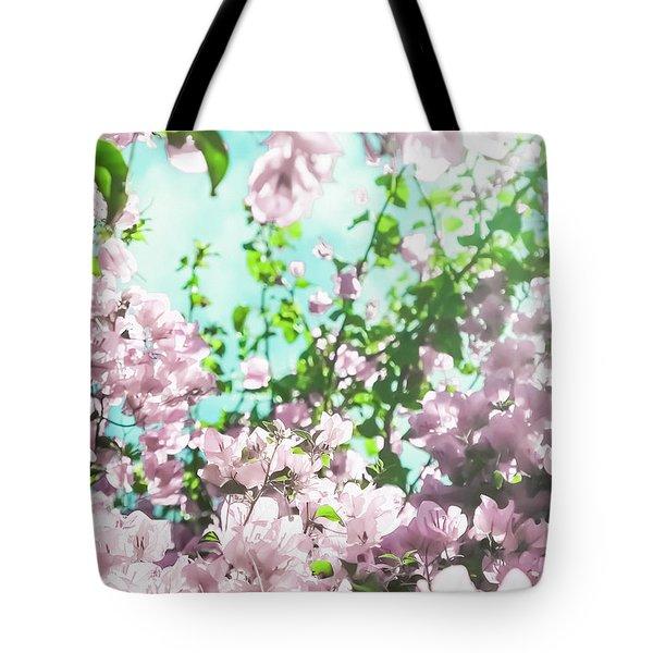 Floral Dreams V Tote Bag