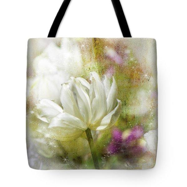 Floral Dust Tote Bag