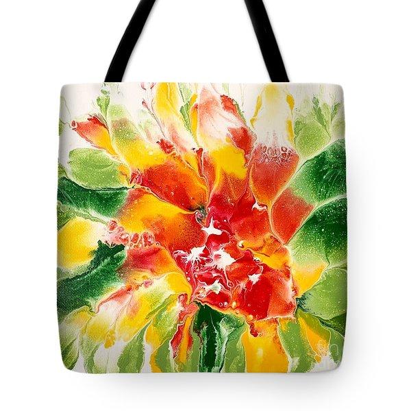 Floral Flourish 2 Tote Bag