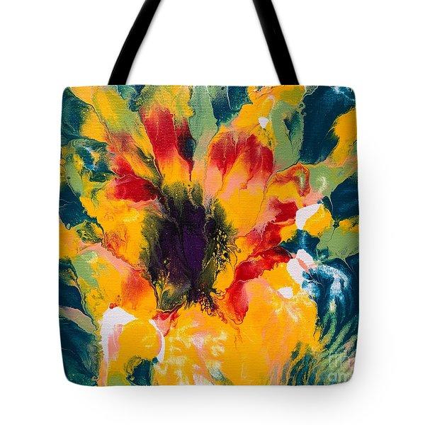Floral Flourish 3 Tote Bag