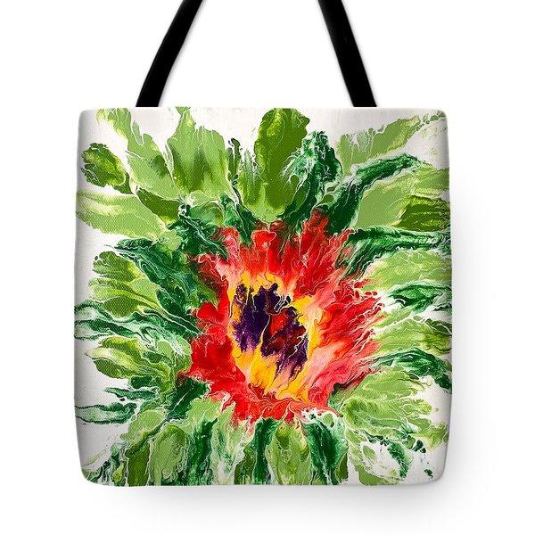 Floral Flourish Tote Bag