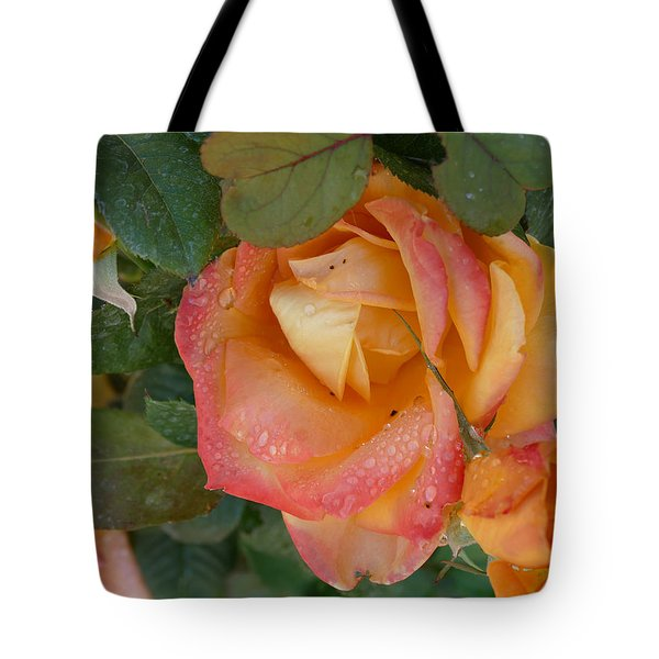 Tote Bag featuring the photograph Floral Melody #2 by Ahma's Garden