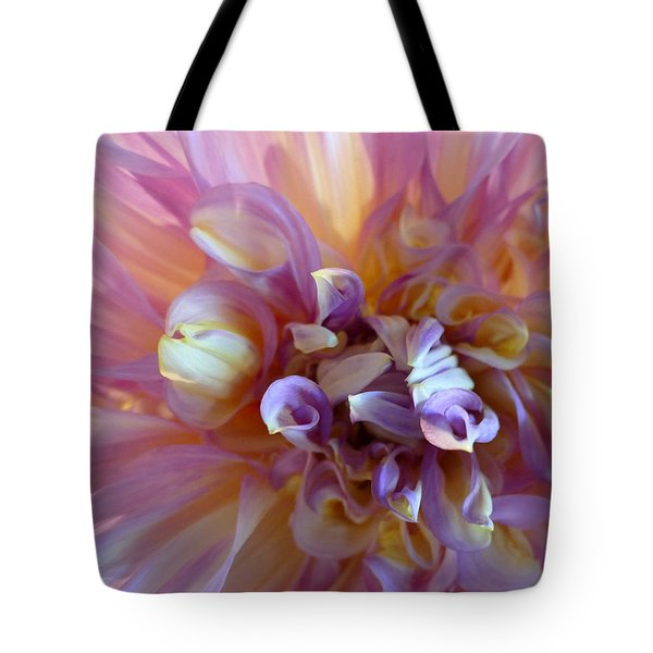 Tote Bag featuring the photograph Floral Melody #3 by Ahma's Garden