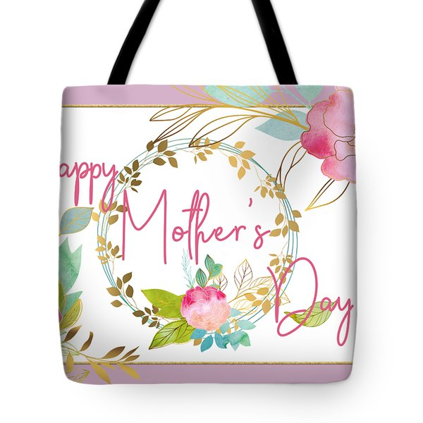 Floral Mother's Day Art Tote Bag
