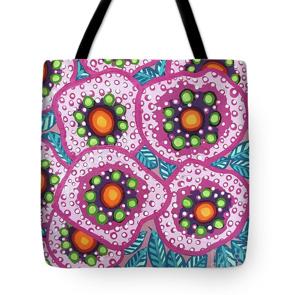 Floral Whimsy 10 Tote Bag