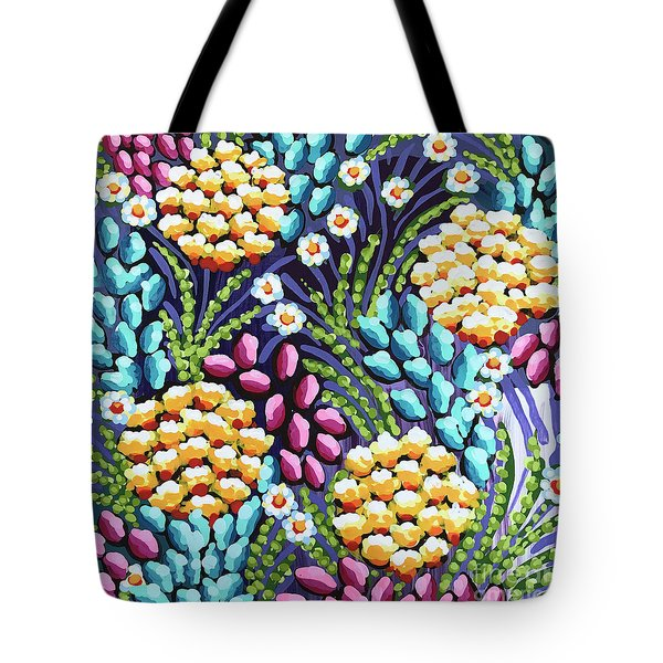 Floral Whimsy 2 Tote Bag