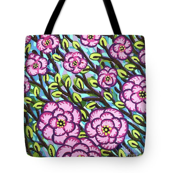 Floral Whimsy 3 Tote Bag