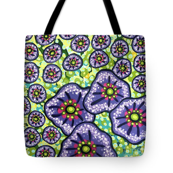 Floral Whimsy 4 Tote Bag