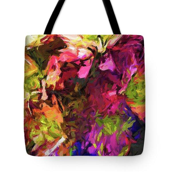 Flower Colour Love 1 Tote Bag