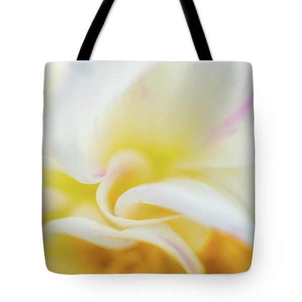 Tote Bag featuring the photograph Flower Curves by Francisco Gomez