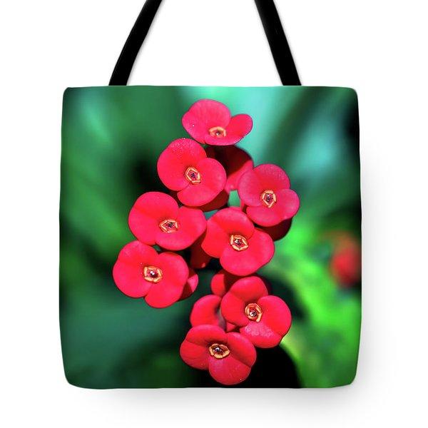 Flower Parade Tote Bag