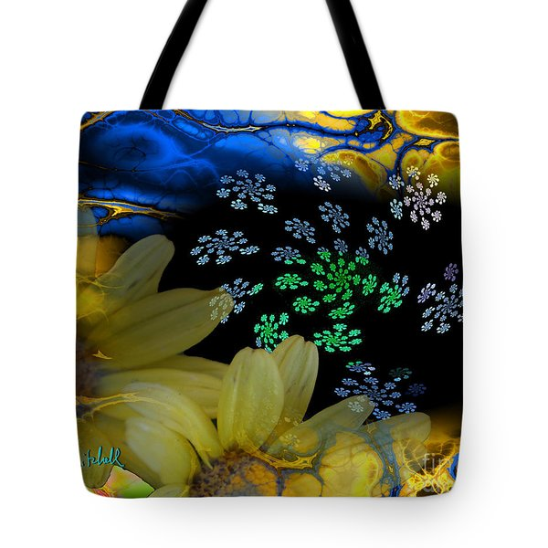 Flower Power In The Modern Age Tote Bag