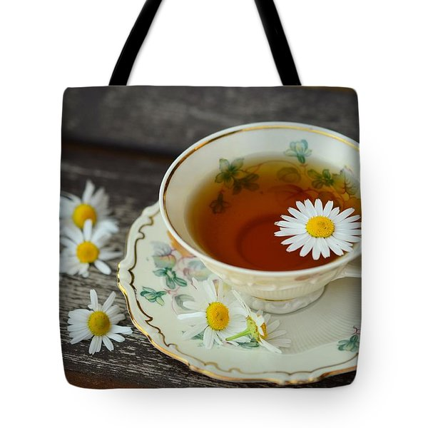 Flower Tea Tote Bag