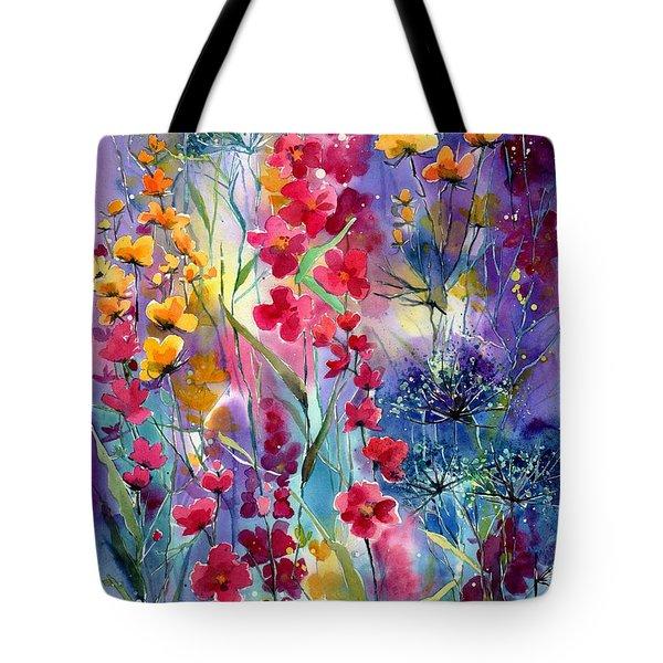 Flowers Fairy Tale Tote Bag