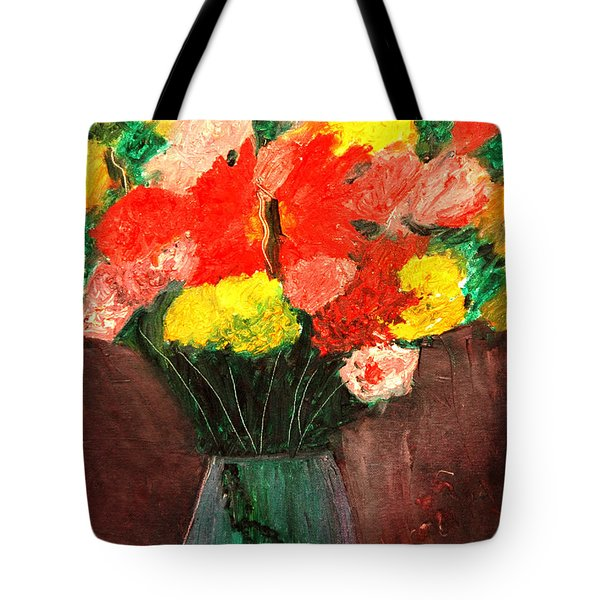 Flowers Still Life Tote Bag