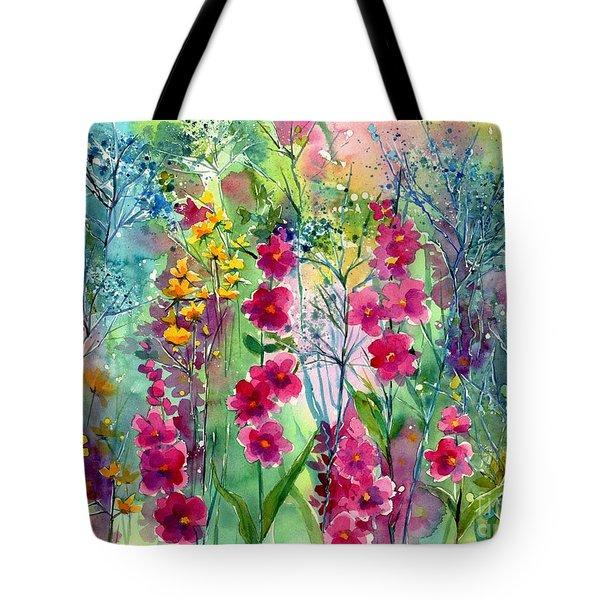 Flowery Fairy Tales Tote Bag