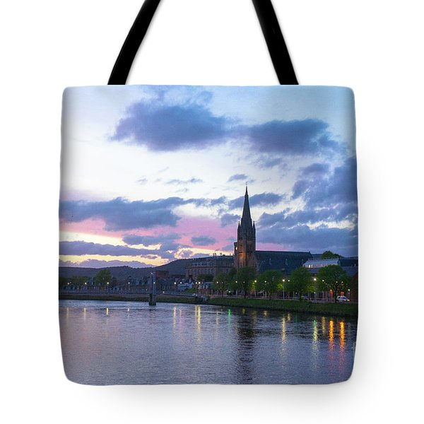Flowing Down The River Ness Tote Bag