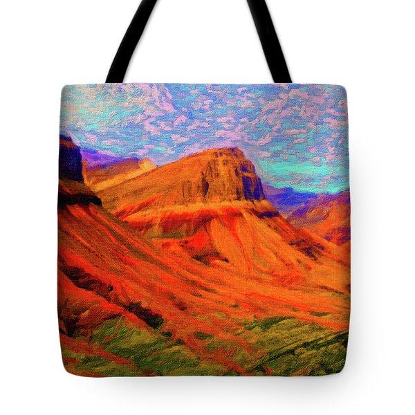 Flowing Rock Tote Bag