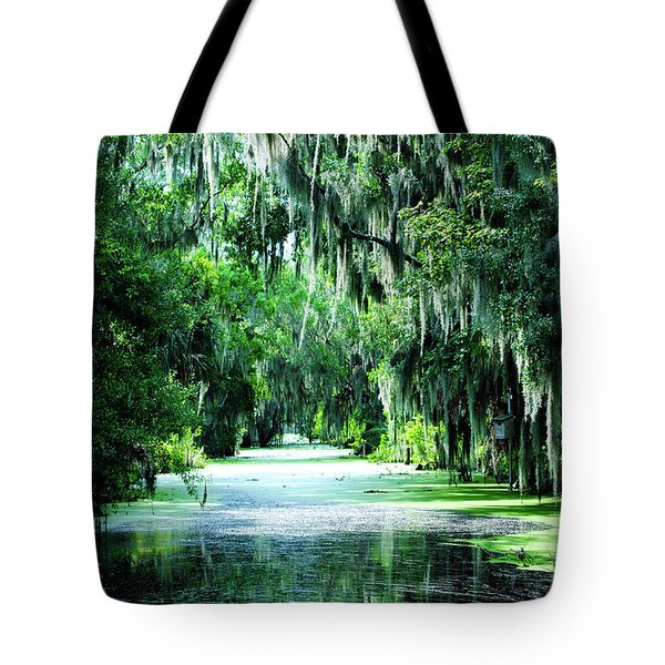 Flush With Green Tote Bag