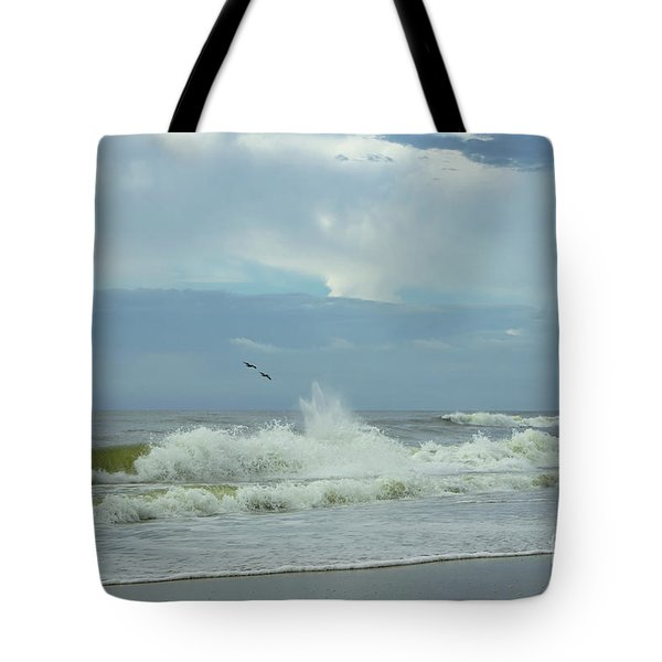 Fly Above The Surf Tote Bag