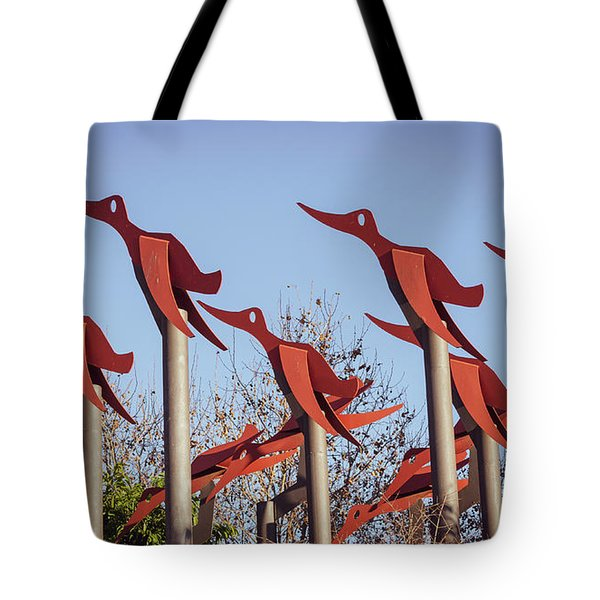 Flying To Nowhere Tote Bag