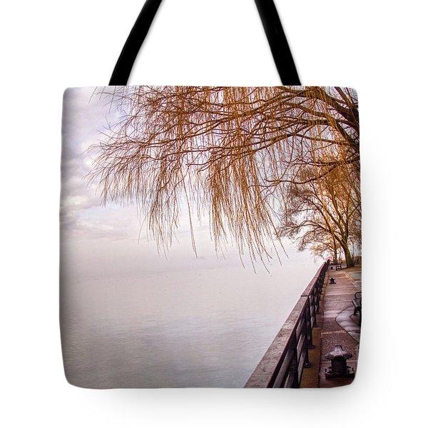 Foggy Niagara Tote Bag