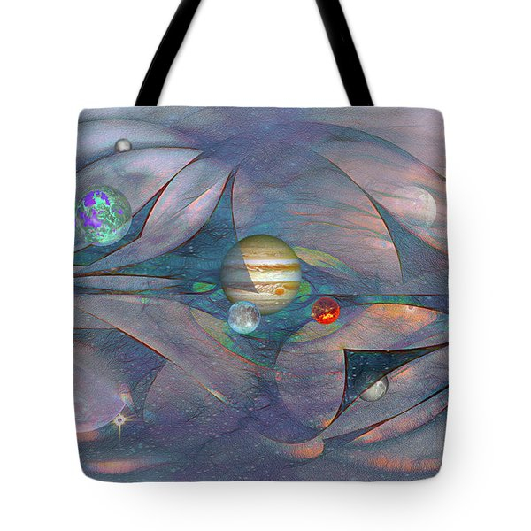 Folding Space Tote Bag