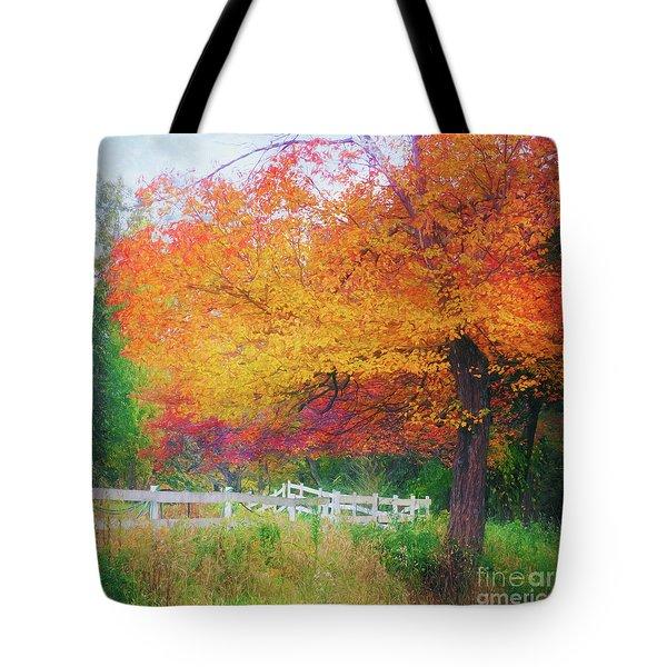 Foliage By The Farm Tote Bag