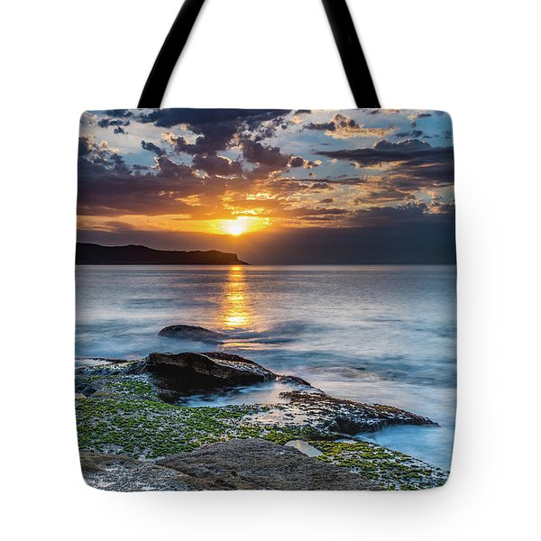 Follow The Golden Path Tote Bag