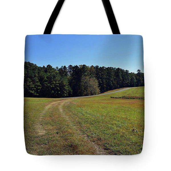 Follow The Path Tote Bag