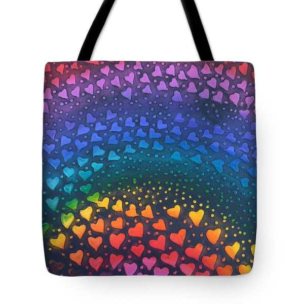 Follow Your Heart To Happiness Tote Bag
