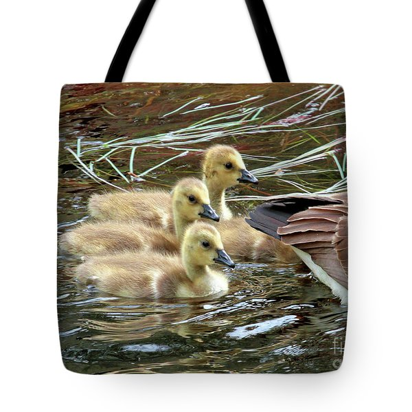 Following Mom's Lead Tote Bag